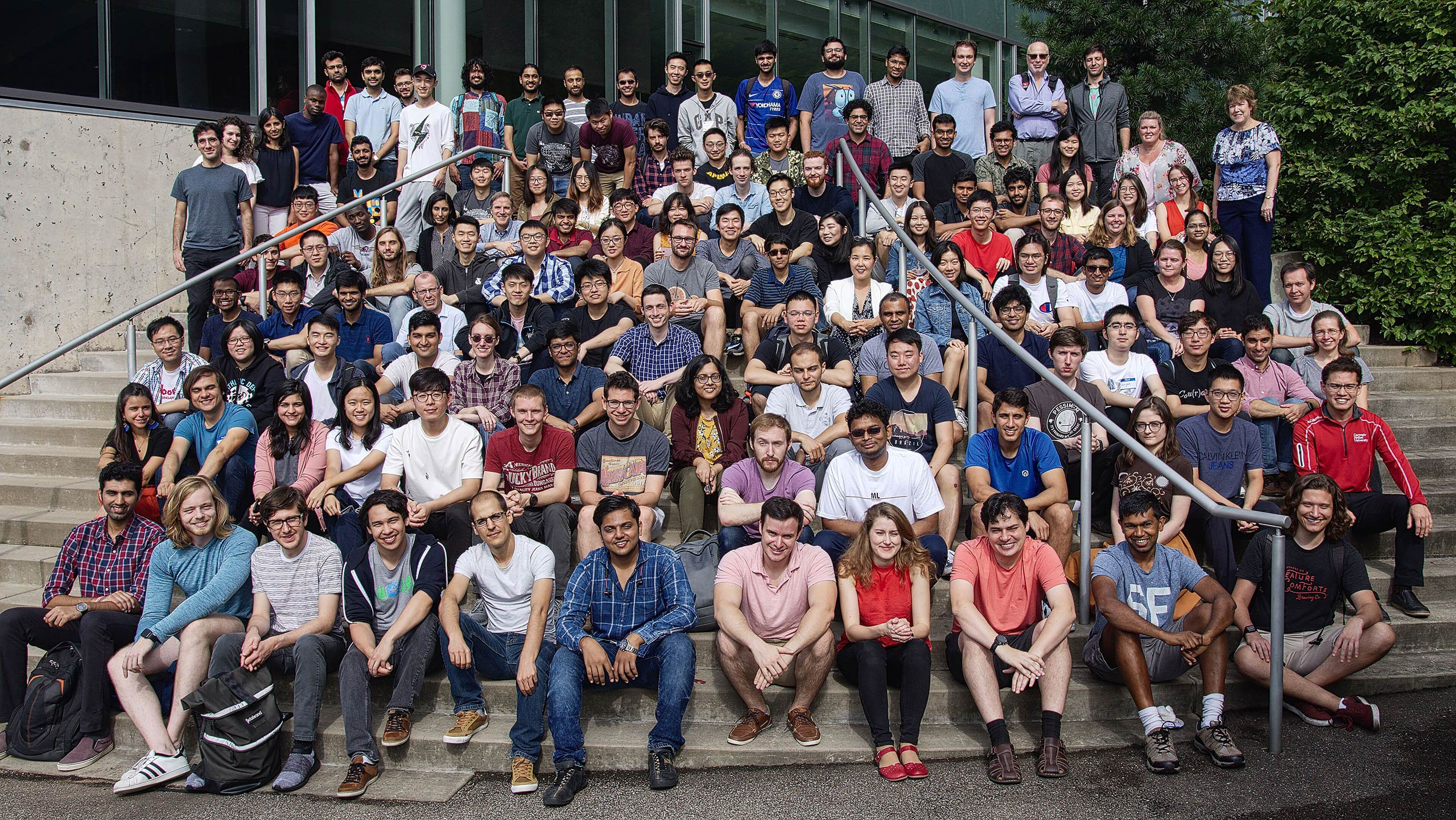 Machine Learning Department Group Photo