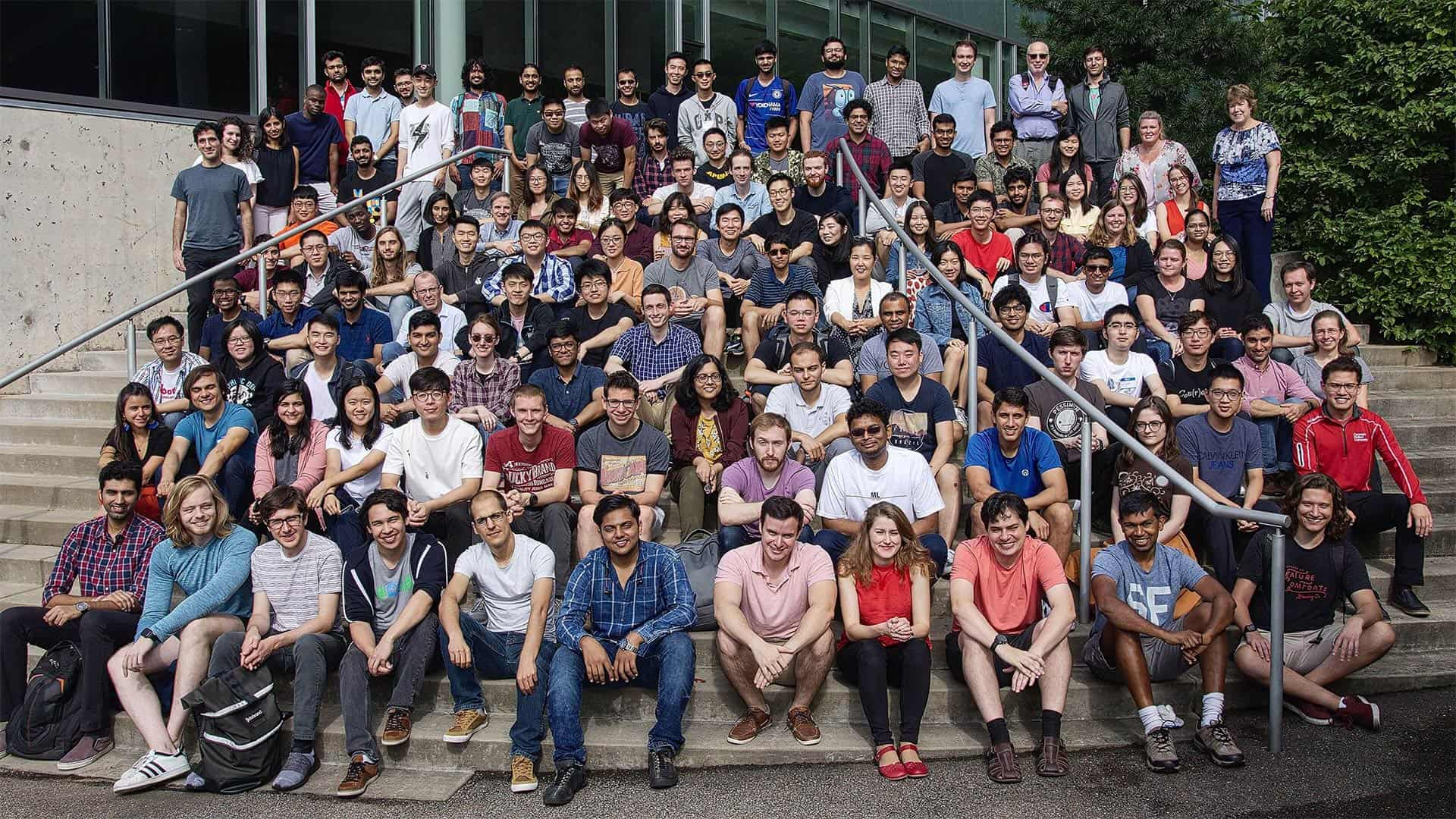 Members of the Machine Learning Department, including faculty, staff, and students.
